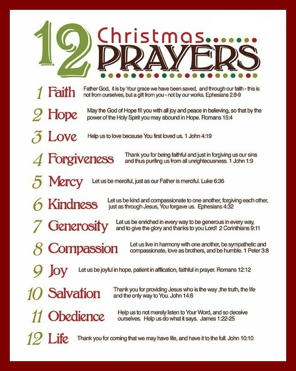 30 best Christmas prayers images on Pinterest | Christmas poems ...