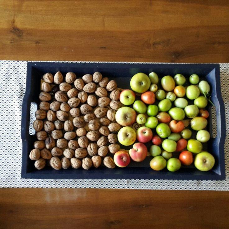 Fruits palette