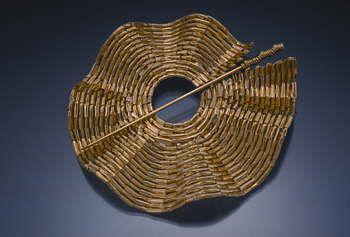 [Ganoksin] Jewelry Making - Introduction to Weaving with Sheet and Wire - Introduzione alla lavorazione con il filo di metallo