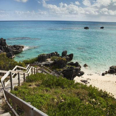Those on the hunt for pink sand can skip the bustle of Bermuda's famous Horseshoe Bay and venture over to this pink sand, turquoise sea paradise in Southampton (right down the coastline from The Reefs Resort). Not only is the beach equally top-notch, but