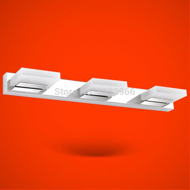 LED Зеркало Свет Лампы 9 Вт Современные Зеркала Свет AC90-265V Настенные Светильники 550 мм СВЕТОДИОДНЫЕ Бра Зеркало Свет Зеркало Samsung led
