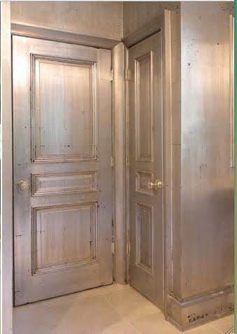 antique gilded walls & doors