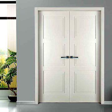 The prefinished Sanrafael Lifestyle 9300W Double Door with 3 panel effect.  #directdoors #sanrafaeldoors