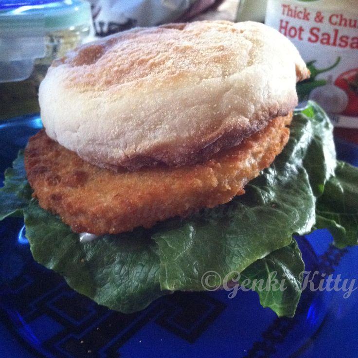BOCA spicy chicken sandwich