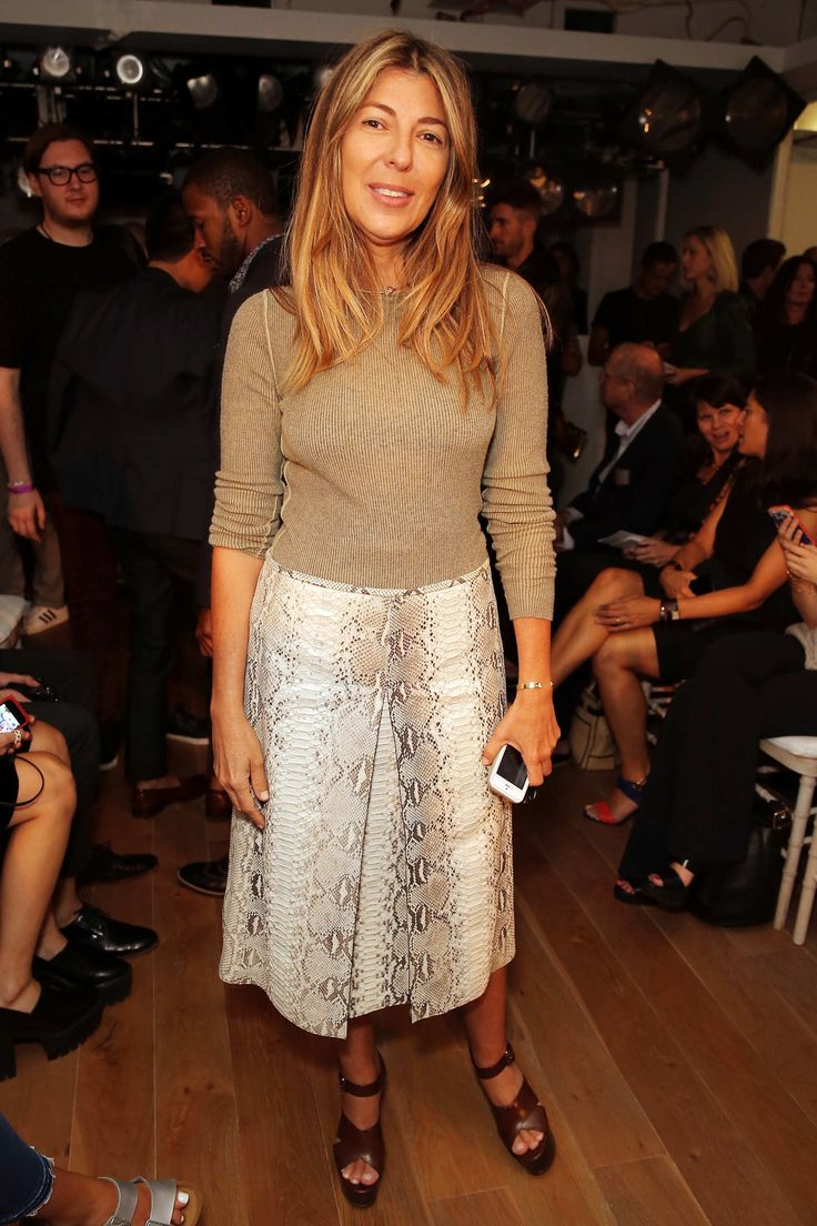 .imagetwist.@ru NYFW 2015 S/S Nina Garcia at the Zac Posen Show.