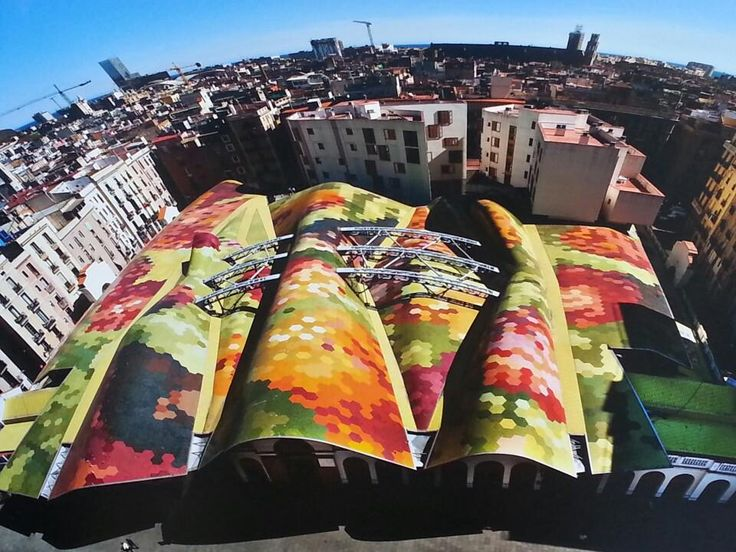 Mercat de Santa Caterina - Sant Pere-Santa Caterina i la Ribera - Barcelona, Cataluña