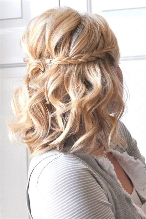 Here Is A List With Photos Of 33 Trendy Prom Hairstyles For Short