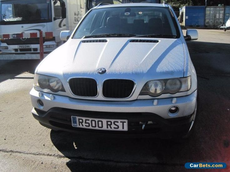 2001 BMW X5 3.0i Sport  4X4 SPARES OR REPAIRS  Private Plate #bmw #x5 #forsale #unitedkingdom
