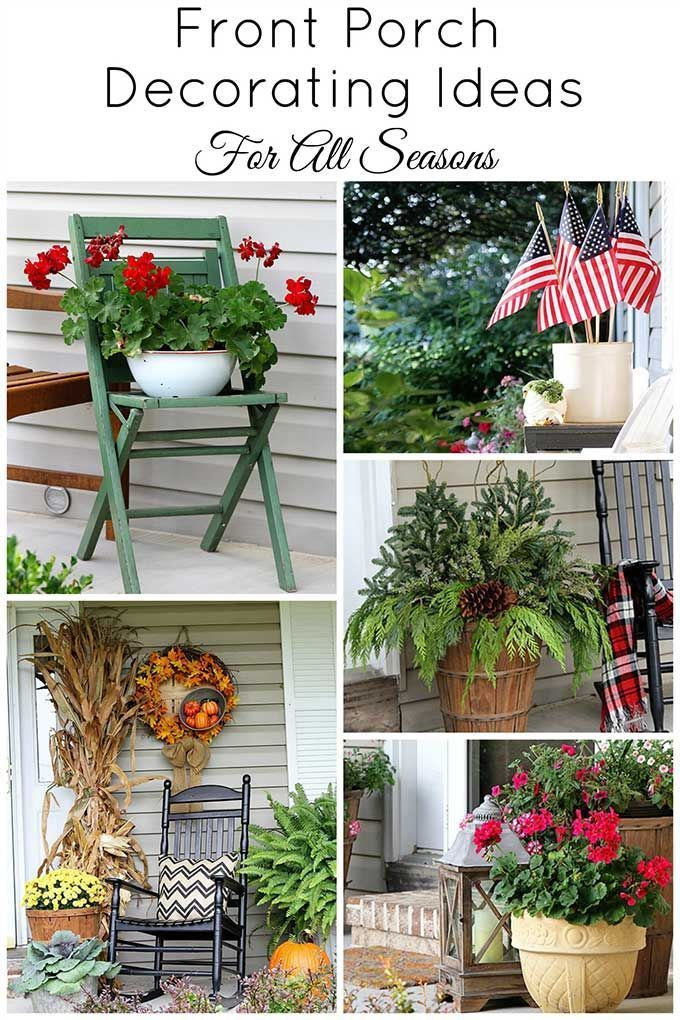 Front Porch Ideas House Of Hawthornes Front Porch Decorating Spring Porch Decor Porch Decorating
