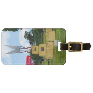 Warwick Sheep Clippers Statue Tags For Luggage