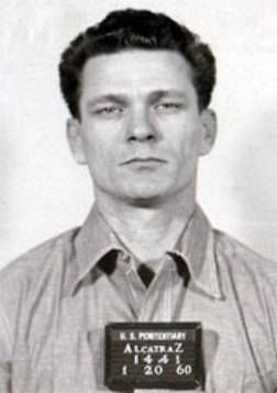 Frank Morris (pictured): Criminal. Disappeared June 1962, from Alcatraz Federal Penitentiary along with John and Clarence Anglin at the age of 36.
