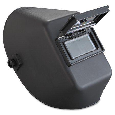 Jackson Safety* Huntsman W10 900 Series Welding Helmet, 4 1/4 inch x 2 inch, Black