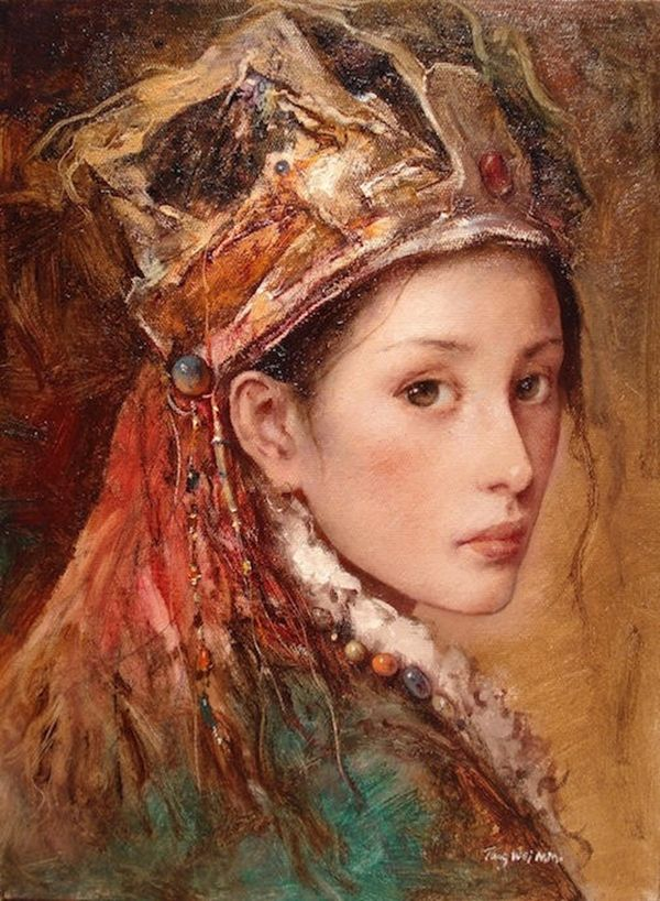 ImpressioniArtistiche: Tang Wei Min   delicat beauty...sofisticated