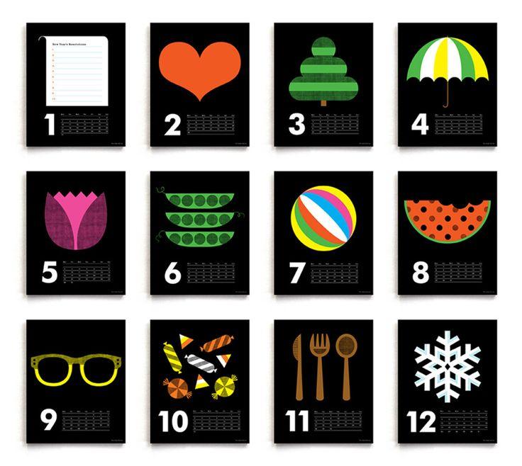 Image of 2013 Icon Calendar (special reprint)