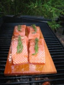 grilled salmon memorial day
