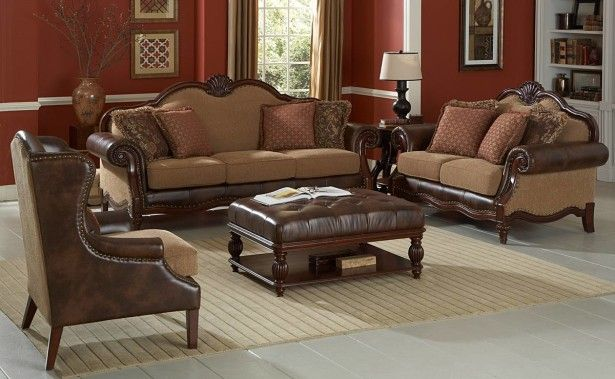 Incredible living room decor with brown large rugs under leather ottoman coffee table and red Red leather ottoman coffee table