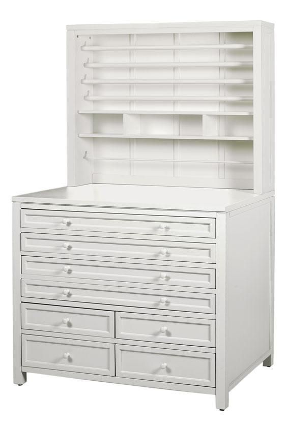 Martha Stewart Living™ Craft Space Gift-Wrap Hutch. Good piece to organize any work space.
