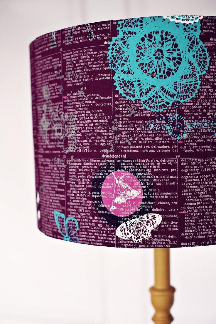 1000 Ideas About Purple Lamp Shade On Pinterest