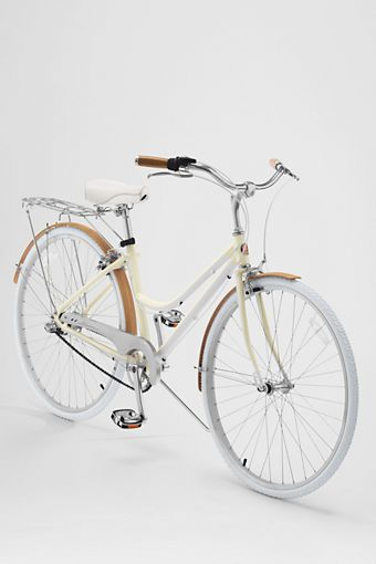 Beach Cruiser Schwinn Bike designed specifically for Lands' End. You can't find a bike like this anywhere else.  SO CUTE