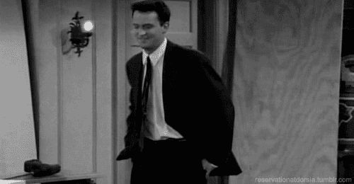 You tend to have a lot of bad luck: | 44 Reasons Why You're Chandler Bing