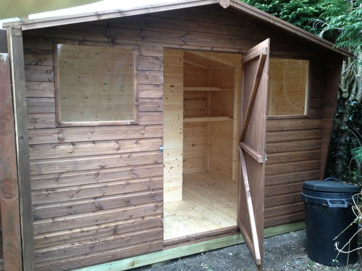 standard apex garden shed very popular in the uk httpwww