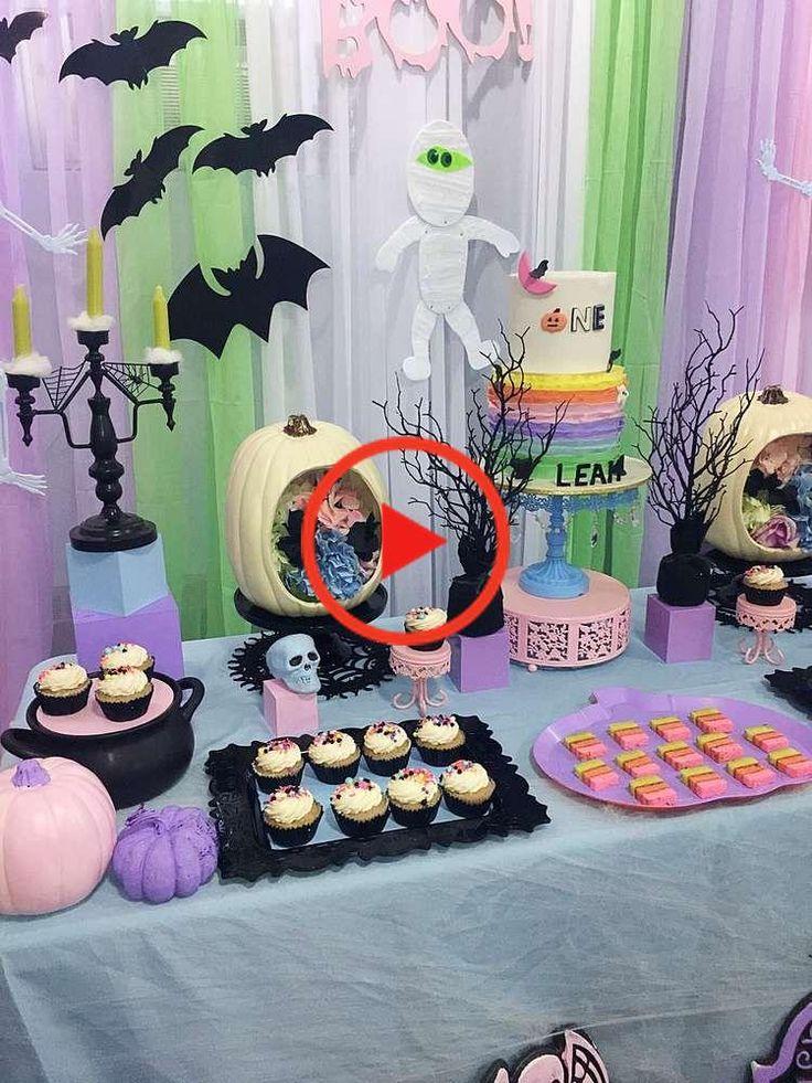 Pastel Halloween Halloween Party Ideas Photo 5 of 5