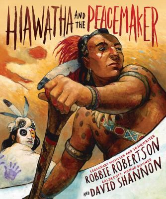 Hiawatha, a Mohawk, is plotting revenge for the murder of his wife and daughters by the evil Onondaga Chief, Tadodaho, when he meets the Great Peacemaker, who enlists his help in bringing the nations together to share his vision of a new way of life marked by peace, love, and unity rather than war, hate, and fear. Includes historical notes.