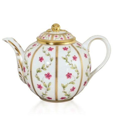 Bernardaud - Roseraie Teapot