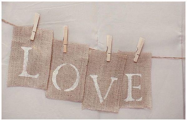 40   Hessian Wedding Ideas
