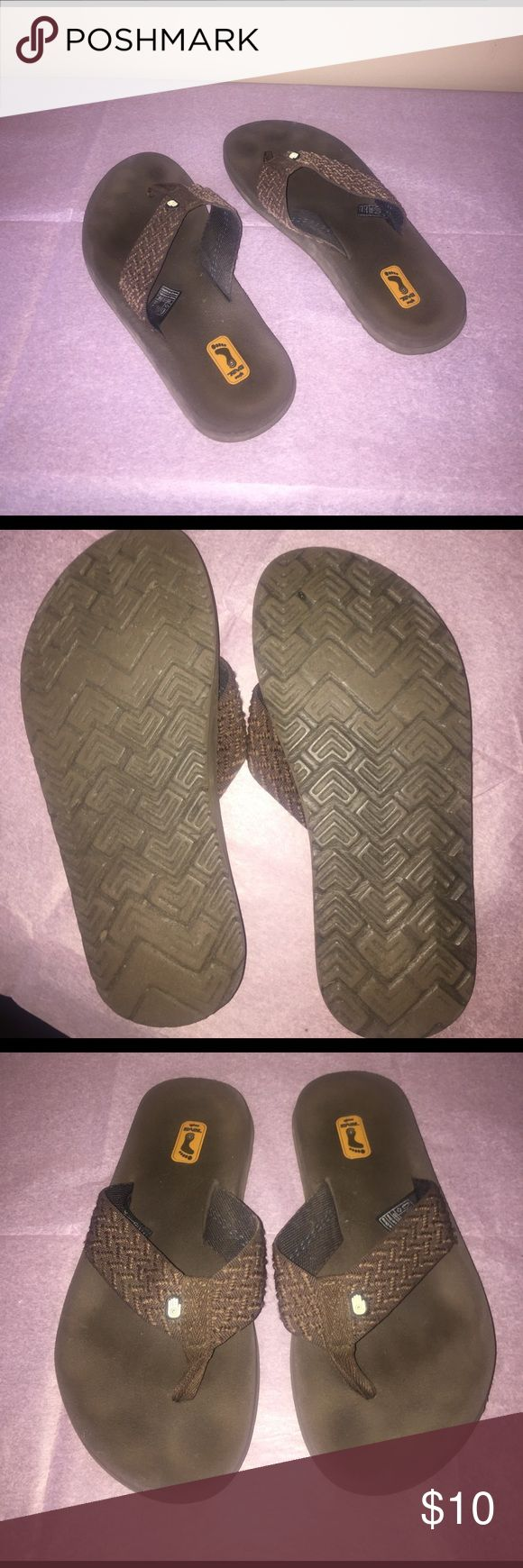 Teva flip flops! Brown! Size 7! Teva flip flops! Brown! Size 7! Teva Shoes Sandals