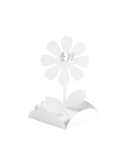 PORTAZAMPIRONI IN METALLO MARGOT3   #Portazampironi #Mascagni in lamiera verniciata, taglio laser, con piattino raccoglicenere. Dimensione: 15x15x23cm. Felix Design.