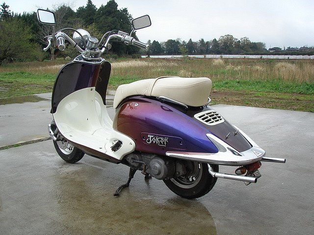 HONDA joker 90 | www.moped-info.ru