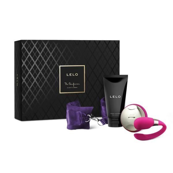 LELO CONFESSIONS GIFT SET- Dual stimulation  of the clitoris and G-spot. For couples, your man can fit comfortably inside you at the same time for intense powerful multiple orgasms. www. beloveddominator.com