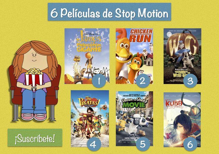 Si te gusta el stop motion o la técnica de animación cuadro a cuadro esta lista de películas es para ti.