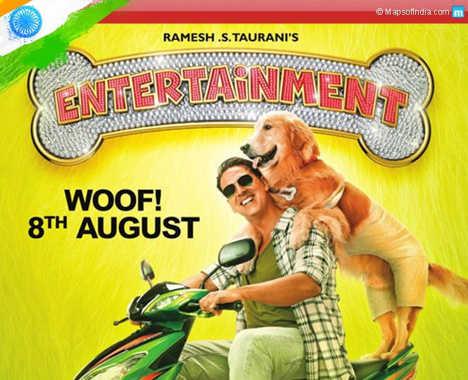 'Entertainment' Movie Review: A light-mindless comedy with a sole intention of making you laugh!