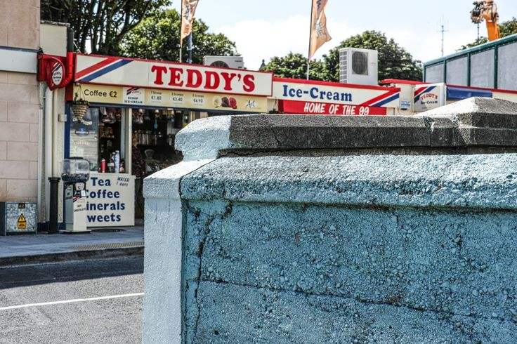 Teddy's Ice Cream: You can't visit Dun Laoghaire without taking a stroll on the East Pier  and nearby is the famous Teddy's Ice cream which is definitely worth a visit before or after your stroll.   Teddy himself, real name Edward Jacob and now retired to the south of France, first opened his business in 1950 selling ice cream from a small shop overlooking the wide expanse of Scotsman's Bay, at the end of Windsor Terrace.