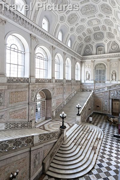 Who needs Versailles when you've got…  The Royal Palace of Naples was one of the four residences near Naples used by the Bourbon Kings during their rule of the Kingdom of Two Sicilies (1730-1860): the others were the palaces of Caserta, Capodimonte overlooking Naples, and the third Portici, on the slopes of Vesuvius.