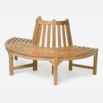 TEEK | Lavice stromová 3-dílná, malá, průměr 165, masivní teak - Designový zahradní nábytek a slunečníky