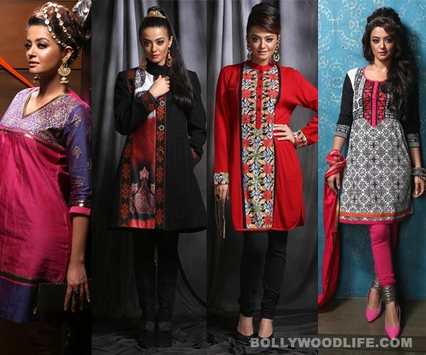 Diya Apparel makes winter trends and colours comealive!