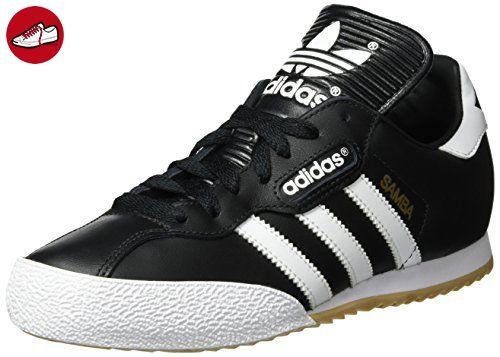 adidas Unisex-Erwachsene Samba Super Sneakers, Schwarz (Black/Running White Ftw), 37 1/3 EU - Adidas sneaker (*Partner-Link)