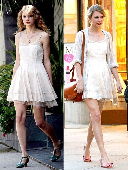 Taylor Swift Fashion and Style - Taylor Swift Dress, Clothes, Hairstyle - Page 13 @taylorswift13