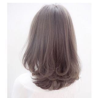 「色落ちヘアは可愛くないぞ♡2015年夏、大人ladyの髪色はアッシュでつくる」に含まれるinstagramの画像|MERY [メリー]