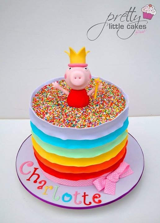 The 25+ best ideas about Peppa Pig Cakes on Pinterest ...
