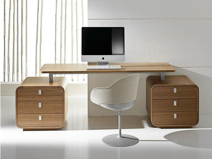 SESTANTE Office desk with drawers by IFT design Nikolas Chachamis