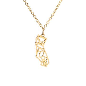 My design inspiration: California Necklace on Fab.