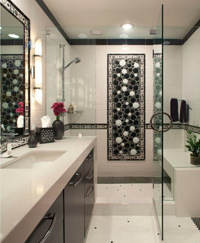 M s de 25 ideas incre bles sobre ba o estrecho en for Aseos modernos con ducha
