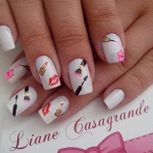 Awesome Nail Art For Summer : Cute summer nails nail art designs style beauty