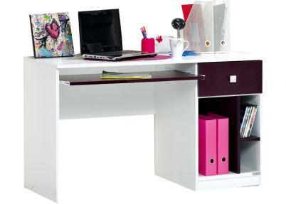 Bureau voor de paarse kinderkamer 'Pretty' | Bureaus