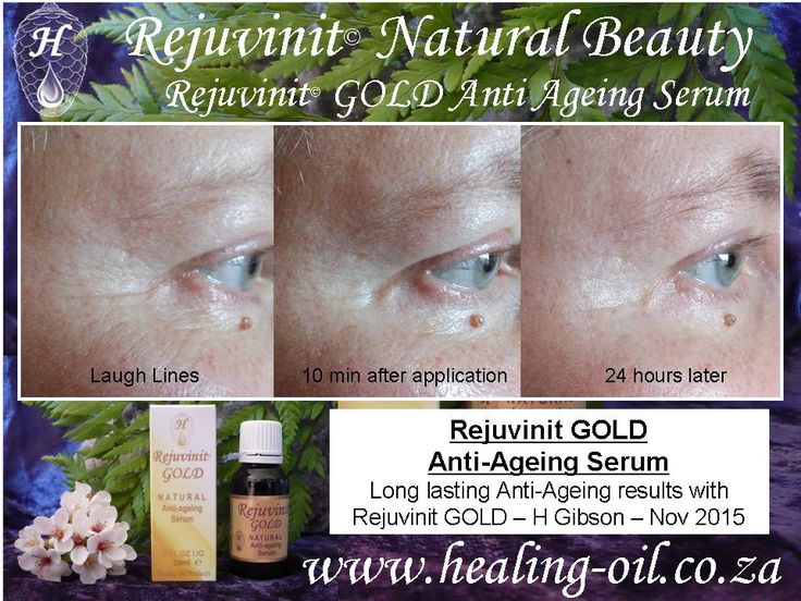 Rejuvinit GOLD sustained anti-ageing results. Natural, quick acting, long lasting, economical. www.healing-oil.co.za