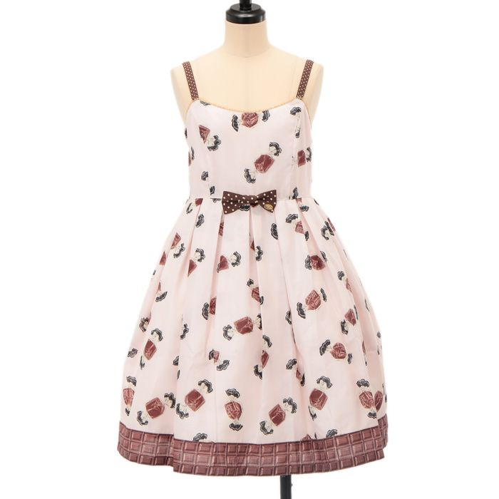 http://www.wunderwelt.jp/products/detail6459.html ☆ ·.. · ° ☆ ·.. · ° ☆ ·.. · ° ☆ ·.. · ° ☆ ·.. · ° ☆ Chocolate candy dress luer-getter ☆ ·.. · ° ☆ How to order ↓ ☆ ·.. · ° ☆ http://www.wunderwelt.jp/user_data/shoppingguide-eng ☆ ·.. · ☆ Japanese Vintage Lolita clothing shop Wunderwelt ☆ ·.. · ☆